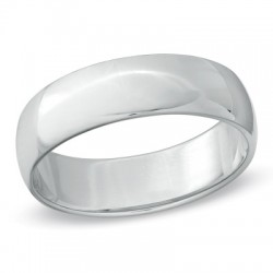 Men's 6.0mm Platinum Wedding Band