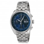 Tellaro AccuSwiss Chronograph Automatic Blue Dial Men's Watch
