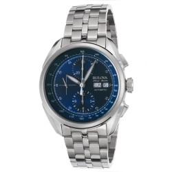 Tellaro AccuSwiss Chronograph Automatic Blue Dial Men's Watch