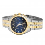 Bulova Curv Men's Chronograph Two Colour Bracelet Watch