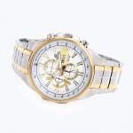 Casio Edifice Men's Two Colour Steel Bracelet Watch