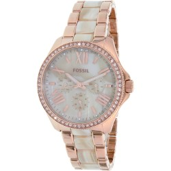 Cecile Beige Horne Dial Ladies Quartz Watch