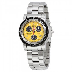 Seawolf I Yellow Dial Men's Chronograph Sports Watch